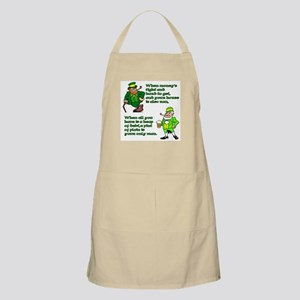 Irish Sayings, Toasts and Ble BBQ Apron