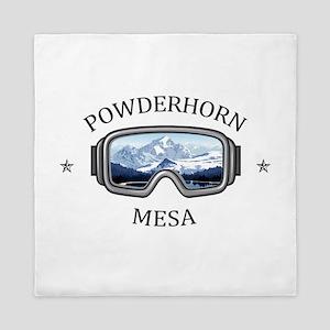 Powderhorn Resort - Mesa - Colorado Queen Duvet