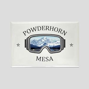 Powderhorn Resort - Mesa - Colorado Magnets