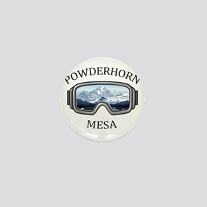 Powderhorn Resort - Mesa - Colorado Mini Button