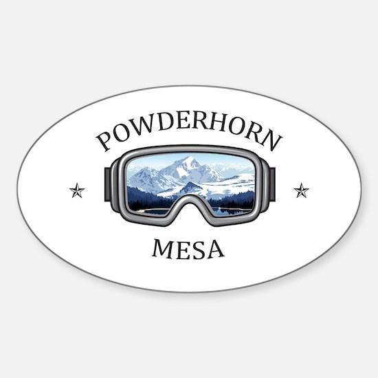 Powderhorn Resort - Mesa - Colorado Decal