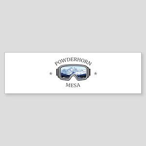Powderhorn Resort - Mesa - Colora Bumper Sticker