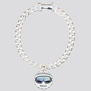 Powderhorn Resort - Me Charm Bracelet, One Charm