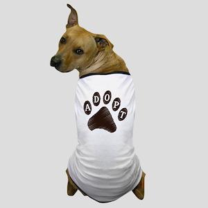 Animal Adoption Paw Dog T-Shirt