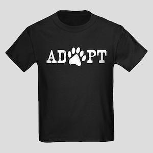 Adopt an Animal Kids Dark T-Shirt