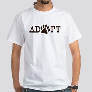 Adopt an Animal White T-Shirt