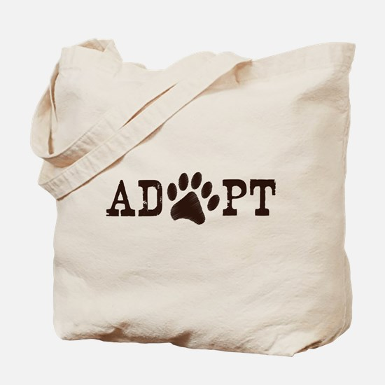 Adopt an Animal Tote Bag