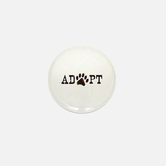 Adopt an Animal Mini Button