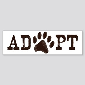 Adopt an Animal Sticker (Bumper)