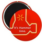 It's Hammer time. Magnet