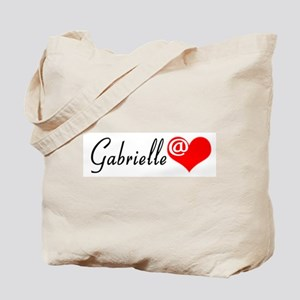 Gabby @ Heart Tote Bag