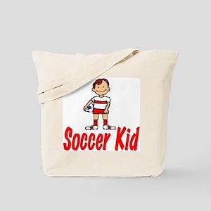Soccer Kid Christopher Tote Bag