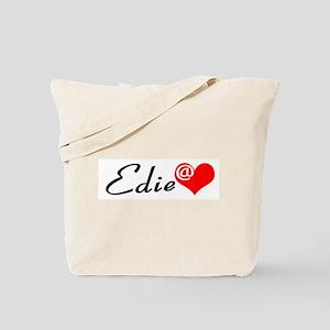 Edie at Heart Tote Bag
