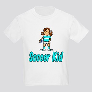 Soccer Kid Abigail Kids T-Shirt