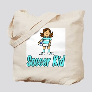 Soccer Kid Abigail Tote Bag