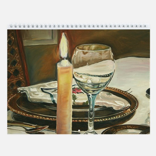 Paintings and Photographic Art Wall Calendar