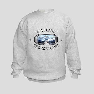 Loveland Ski Area - Georgetown - Colo Sweatshirt