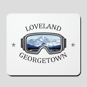 Loveland Ski Area - Georgetown - Color Mousepad