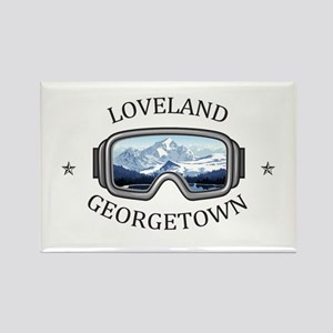 Loveland Ski Area - Georgetown - Colorad Magnets