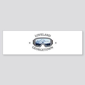 Loveland Ski Area - Georgetown - Bumper Sticker