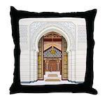 Moroccan Doors Throw Pillow