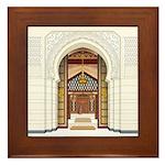 Moroccan Doors Framed Tile