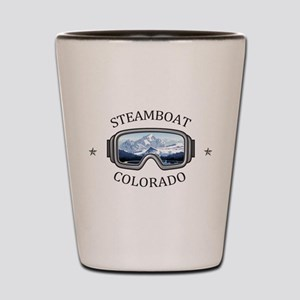 Steamboat Ski Resort - Steamboat Spri Shot Glass