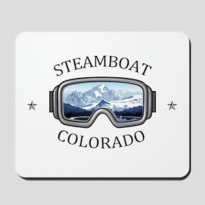 Steamboat Ski Resort - Steamboat Sprin Mousepad