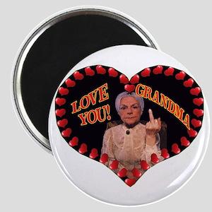 """2.25"""" Magnet (10 pack) Love You Grandma"""
