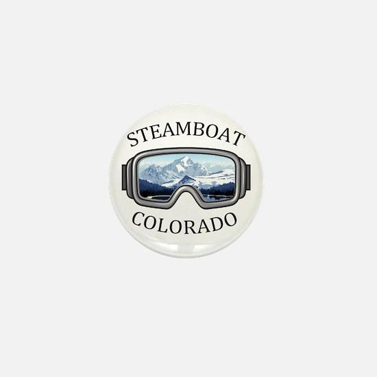 Steamboat Ski Resort - Steamboat Spr Mini Button