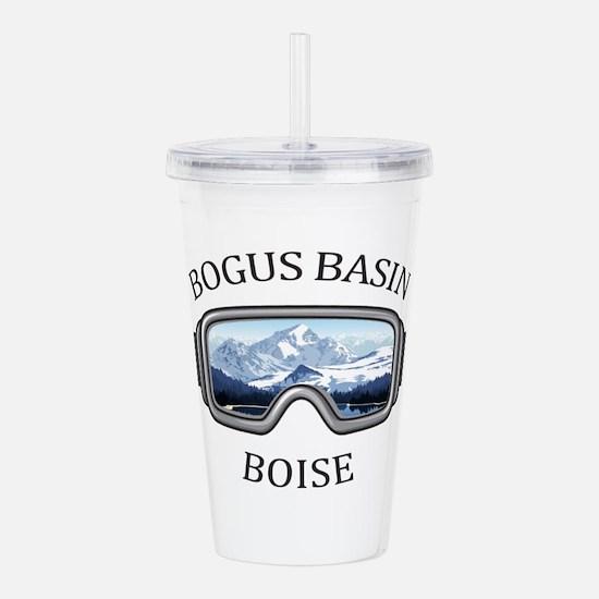 Bogus Basin - Boise Acrylic Double-wall Tumbler