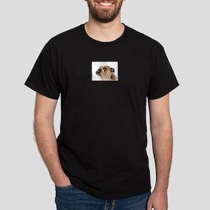 English Bulldog Black T-Shirt
