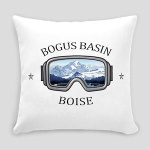 Bogus Basin - Boise - Idaho Everyday Pillow