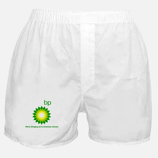 BP Oil... Spill Boxer Shorts