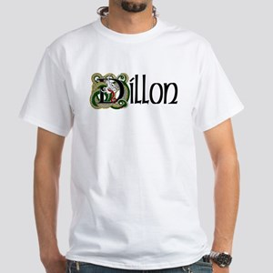 Dillon Celtic Dragon White T-Shirt
