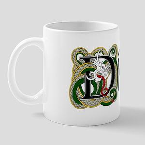 Dillon Celtic Dragon Mug