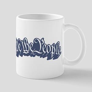 We The People (Blue) Mug