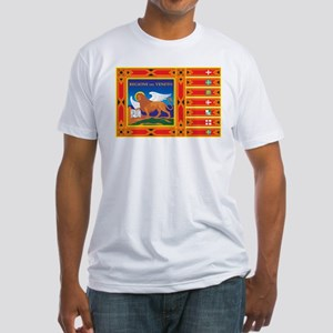 Venice Flag Fitted T-Shirt