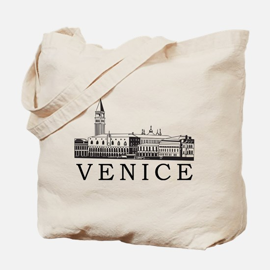 Venice Skyline Tote Bag