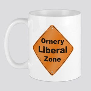 Ornery Liberal Mug