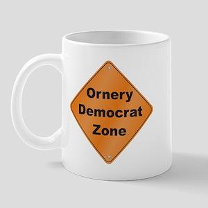 Ornery Democrat Mug