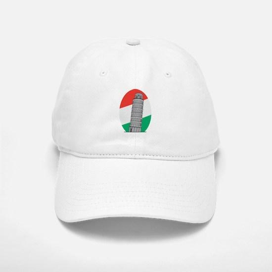 Italy Leaning Tower Of Pisa Baseball Baseball Cap