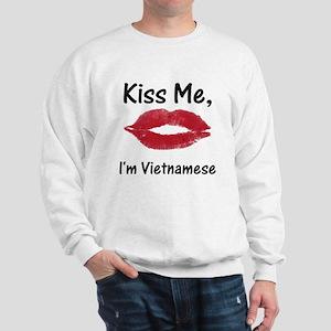 Kiss me, I'm Vietnamese Sweatshirt