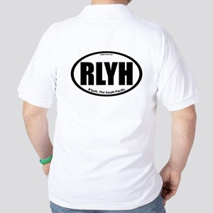 R'lyeh auto badge Lovecraft Golf Shirt