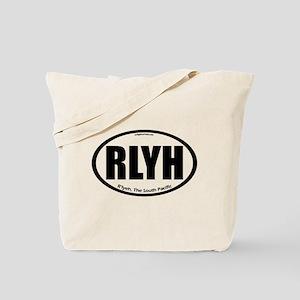 R'lyeh auto badge Lovecraft Tote Bag