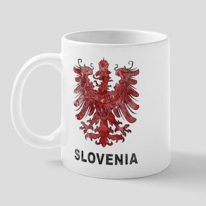 Vintage Slovenia Eagle Mug