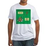 Rotisserie Chicken Rope Maker Fitted T-Shirt