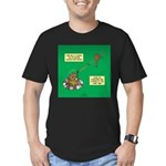 Rotisserie Chicken Rop Men's Fitted T-Shirt (dark)