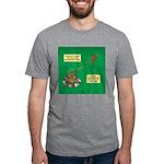Rotisserie Chicken Rope Mak Mens Tri-blend T-Shirt