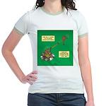 Rotisserie Chicken Rope Maker Jr. Ringer T-Shirt
